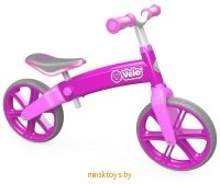 Беговел Yvolution Velo Balance, розовый YVolution 100197 - Minsktoys.by