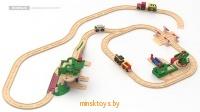 Купить Детская железная дорога - Лесная фабрика, ROBISUN в Минске - интернет-магазин игрушек Minsktoys.by