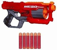 Бластер нёрф 'Циклон-шок', Nerf MEGA A9353 - Minsktoys.by