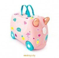 Чемодан на колесиках 'Фламинго Флосси' Trunki 0353-GB01 icon | minsktoys.by