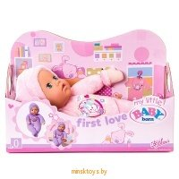 Моя первая кукла My little Baby Born супермягкая  Zapf Creation 819869 - Minsktoys.by