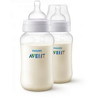 Детская бутылочка (2 шт.) Philips Avent Anti-colic SCF816/27 - Minsktoys.by