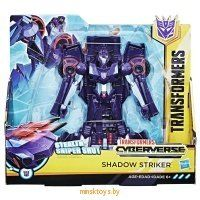 Трансформер ' Shadow Striker' Кибервселенная Hasbro Transformers E1910/E1886 - Minsktoys.by