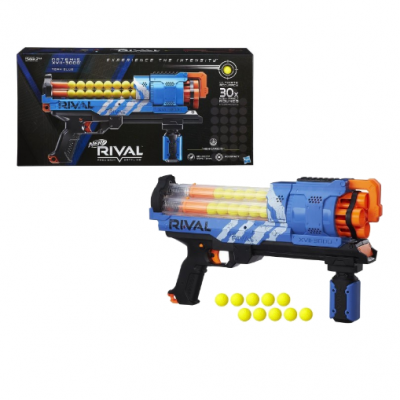 Бластер Нёрф Rival Artemis XVII-3000 синий Hasbro B8237 | minsktoys.by