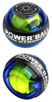 Кистевой тренажер PowerBall 250Hz Blue Regular | minsktoys.by